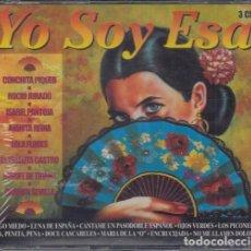 CDs de Música: YO SOY ESA - TRIPLE CD NUEVO Y PRECINTADO COPLA - MARIFE C PIQUER R JURADO I PANTOJA LOLA FLORES .... Lote 245209535