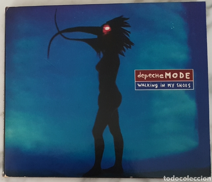 CD DEPECHE MODE - WALKING IN MY SHOES. SYNTH POP, TECNO POP (Música - CD's Techno)