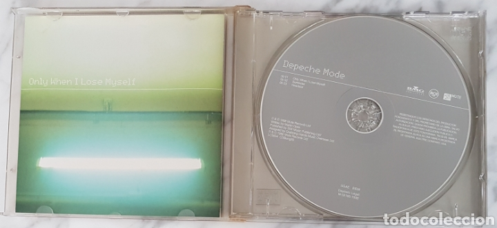 CDs de Música: CD DEPECHE MODE - ONLY WHEN I LOSE MYSELF. SYNTH POP, GAHAN, MARTIN GORE - Foto 2 - 245216090