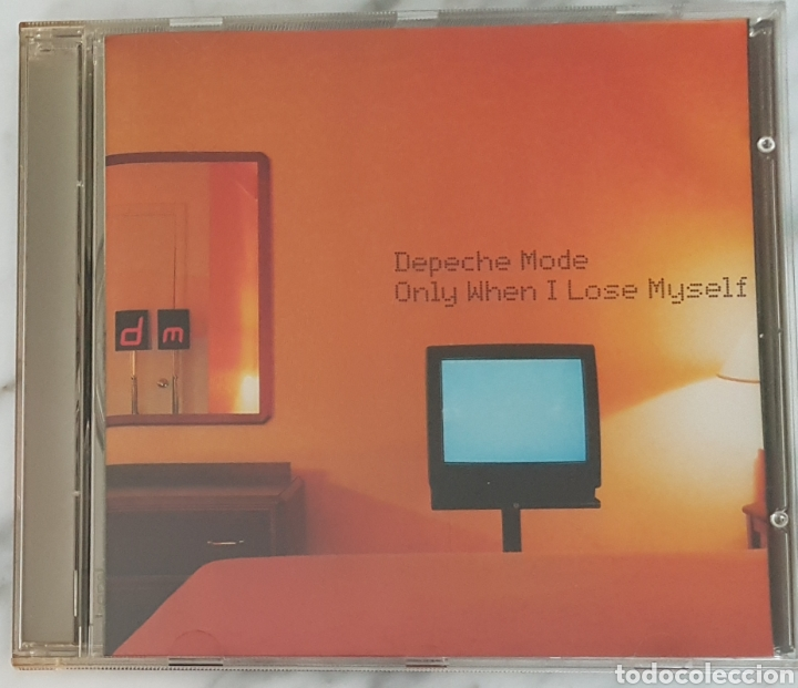 CD DEPECHE MODE - ONLY WHEN I LOSE MYSELF. SYNTH POP, GAHAN, MARTIN GORE (Música - CD's Techno)