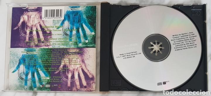 CDs de Música: CD DEPECHE MODE - USELESS. CD BONG 28. UK CJ BOLLAND, KRUDER, DORFMEISTER - Foto 2 - 245217130