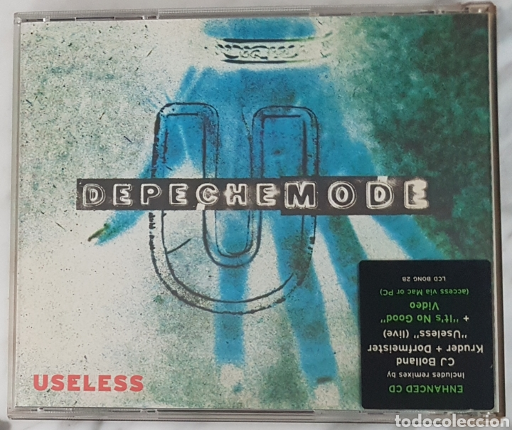 CDs de Música: CD DEPECHE MODE - USELESS. CD BONG 28. UK CJ BOLLAND, KRUDER, DORFMEISTER - Foto 3 - 245217130