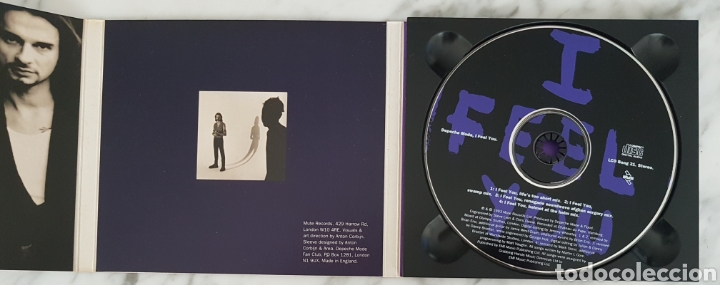 CDs de Música: CD DEPECHE MODE - I FEEL YOU. LCD BONG 21. UK - Foto 2 - 245217540