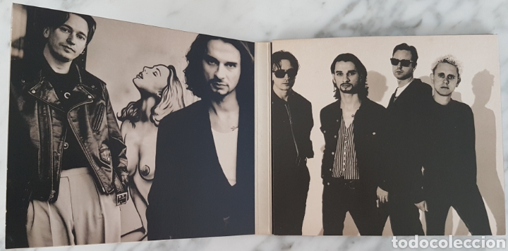 CDs de Música: CD DEPECHE MODE - I FEEL YOU. LCD BONG 21. UK - Foto 3 - 245217540