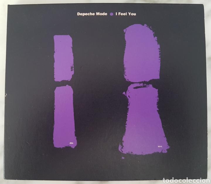 CD DEPECHE MODE - I FEEL YOU. LCD BONG 21. UK (Música - CD's Techno)