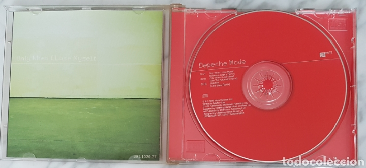 CDs de Música: CD DEPECHE MODE - ONLY WHEN I LOSE MYSELF. LCD BONG 29. - Foto 3 - 245218040
