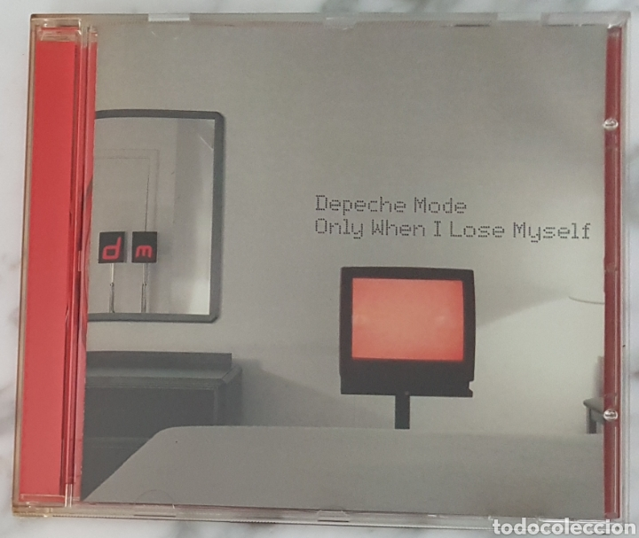 CD DEPECHE MODE - ONLY WHEN I LOSE MYSELF. LCD BONG 29. (Música - CD's Techno)