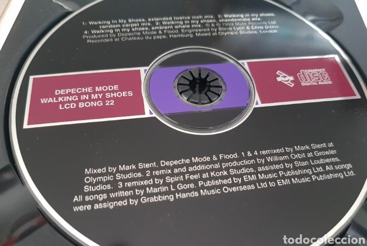 CDs de Música: CD DEPECHE MODE - WALKING IN MY SHOES. LCD BONG 22. UK - Foto 4 - 245218365