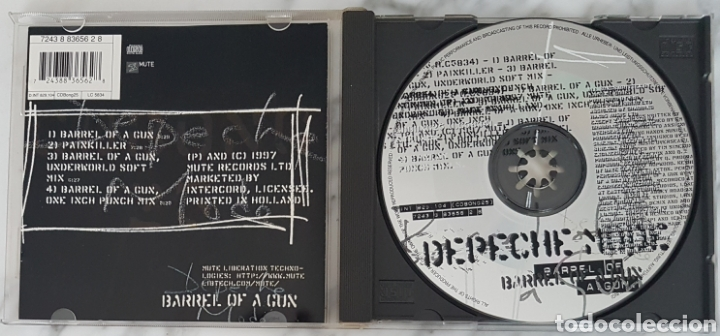 CDs de Música: CD DEPECHE MODE - BARREL OF A GUN CDBONG25. - Foto 2 - 245218595