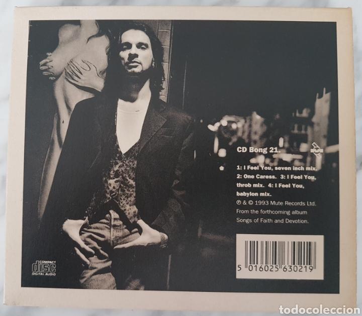 CDs de Música: CD DEPECHE MODE - I FEEL YOU. CD BONG 21 - Foto 2 - 245219955