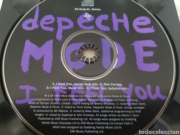 CDs de Música: CD DEPECHE MODE - I FEEL YOU. CD BONG 21 - Foto 3 - 245219955