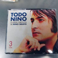 CDs de Música: NINO BRAVO-CAJA CON TRES CD-LA OBRA COMPLETA DE NINO BRAVO. Lote 245220670