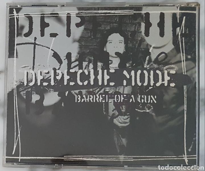 CDs de Música: CD DEPECHE MODE - BARREL OF A GUN. CD BONG 25. MADE IN EC - Foto 2 - 245221445