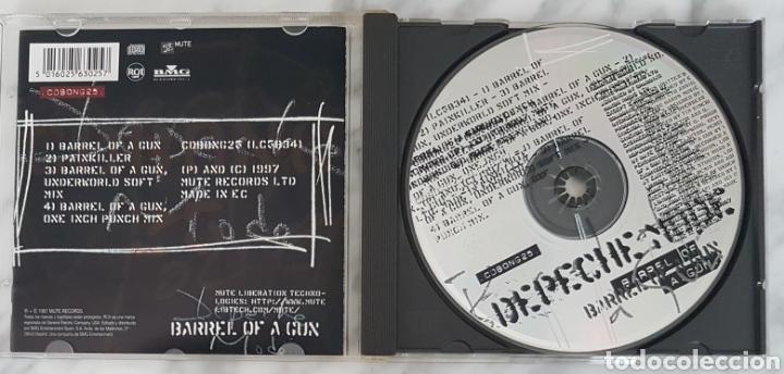 CDs de Música: CD DEPECHE MODE - BARREL OF A GUN. CD BONG 25. MADE IN EC - Foto 5 - 245221445
