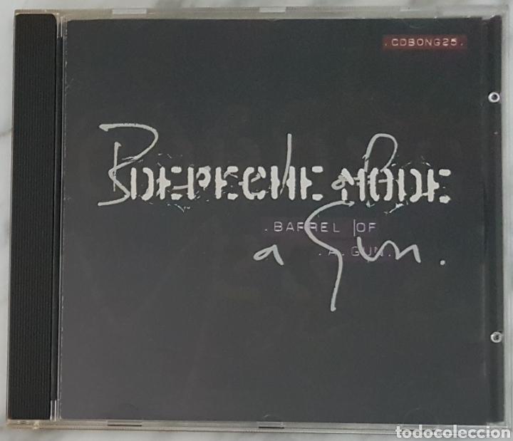 CD DEPECHE MODE - BARREL OF A GUN. CD BONG 25. MADE IN EC (Música - CD's Techno)