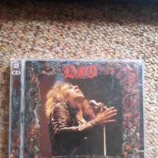 CDs de Música: DIO , DIO'S INFERNO , THE LAST IN LIVE , 2XCD , LEVES SEÑALES DE USO .. Lote 245237465