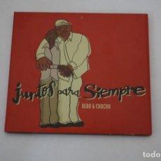 CD di Musica: CD/ JUNTOS PARA SIEMPRE - BEB0 & CIGALA. Lote 245257025