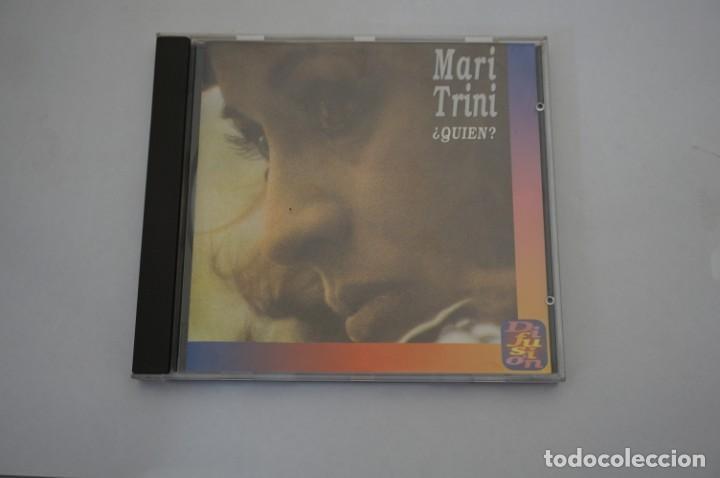 CD/ MARI TRINI - ¿QUIEN? - CD DIFICILISIMO DE CONSEGUIR (Música - CD's Otros Estilos)