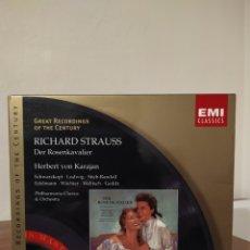 CDs de Música: STRAUSS - KARAJAN. Lote 245259405