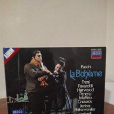 CDs de Música: LA BOHEME - KARAJAN. Lote 245259770