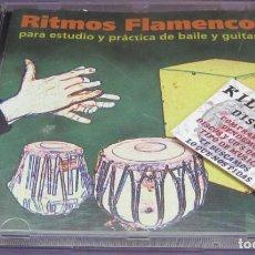 CDs de Música: RITMOS FLAMENCOS PARA ESTUDIO Y PRÁCTICA DE BAILE Y GUITARRA - CD. Lote 245271890