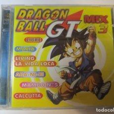 CDs de Música: DOBLE CD DRAGON BALL GT MIX 3 DIVUCSA AÑO 1999. Lote 245277270