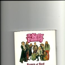CDs de Música: THE KELLY FAMILY. ROSES OF RED (CD SINGLE 1995). Lote 245277655