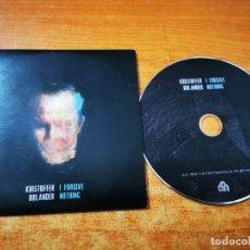 CDs de Música: KRISTOFFER BOLANDER I FORGIVE NOTHING CD ALBUM PROMO CARTON DEL AÑO 2015 EU TIENE 11 TEMAS INDIE POP. Lote 245286325