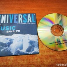 CDs de Música: UNIVERSAL FEB SAMPLER 2002 UK CD PROMO CD-R CARTON KYLIE MINOGUE NO DOUBT KATE WINSLET WESTLIFE RARO. Lote 245288355