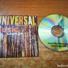 CDs de Música: UNIVERSAL OCTOBER SAMPLER 2001 CD PROMO UK CD-R CARTON KYLIE MINOGUE GARBAGE BJORK SMASHING PUMPKINS. Lote 245288805