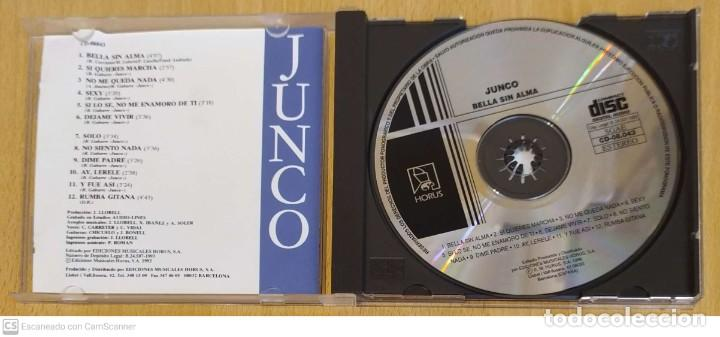 CDs de Música: JUNCO (BELLA SIN ALMA Y OTROS EXITOS) CD 1993 HORUS - Foto 3 - 245291070
