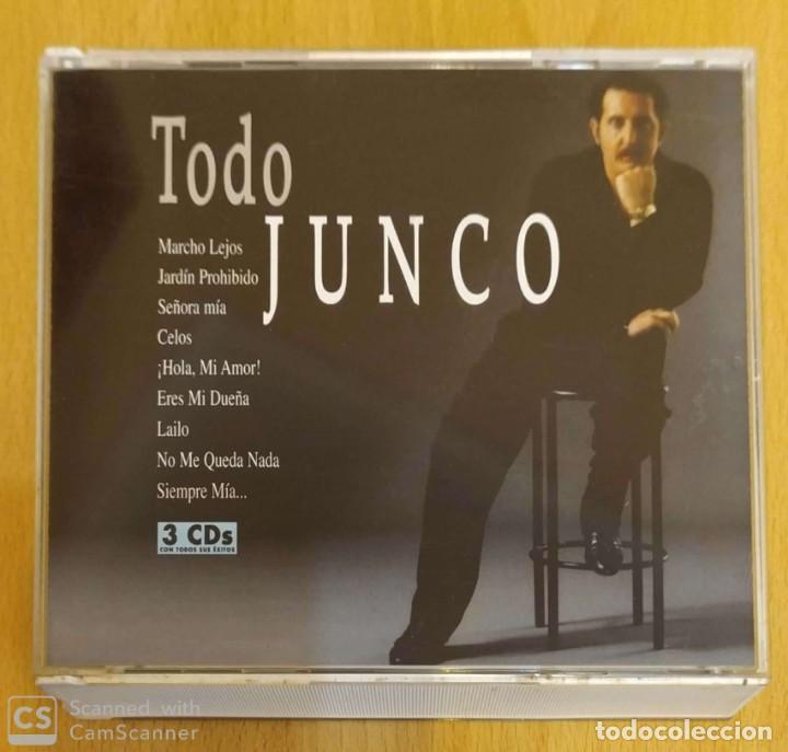 JUNCO (TODO JUNCO) 3 CD'S 2005 (Música - CD's Flamenco, Canción española y Cuplé)