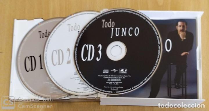 CDs de Música: JUNCO (TODO JUNCO) 3 CDs 2005 - Foto 3 - 245291230