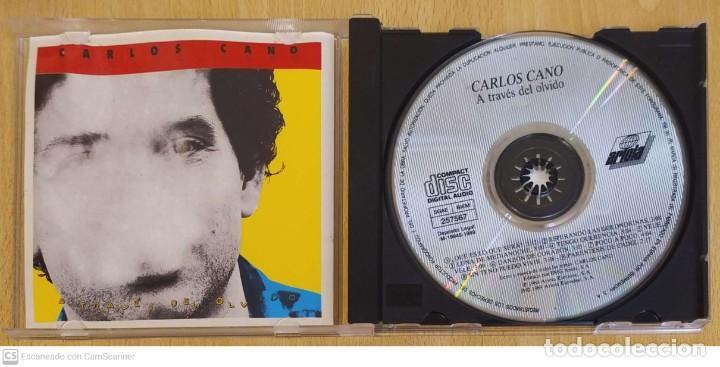 CDs de Música: CARLOS CANO (A TRAVES DEL OLVIDO) CD 1989 - Foto 3 - 245291880