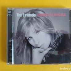 CDs de Música: BARBRA STREISAND - THE ESSENTIAL MUSICA 2 CD. Lote 245303435