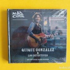CDs de Música: QUIQUE GONZALEZ & THE DETECTIVES - LIVE SESSIONS MUSICA 2 CD. Lote 245305060