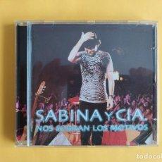 CDs de Música: SABINA Y CIA - NOS SOBRAN LOS MOTIVOS MUSICA 2 CD. Lote 245305475