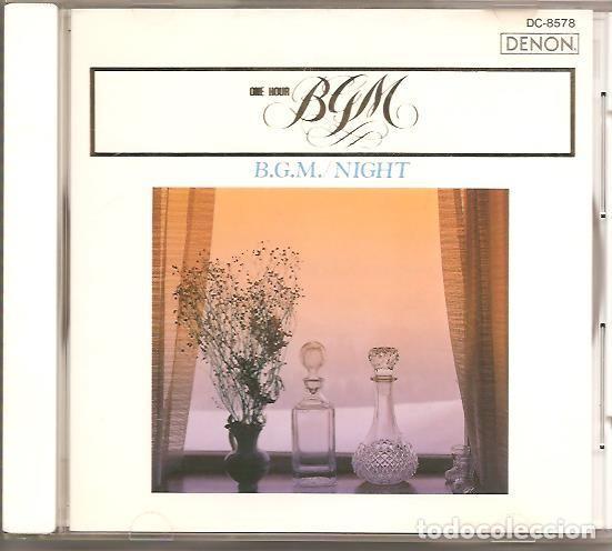 CDs de Música: B.G.M. / NIGHT - Foto 2 - 245305545
