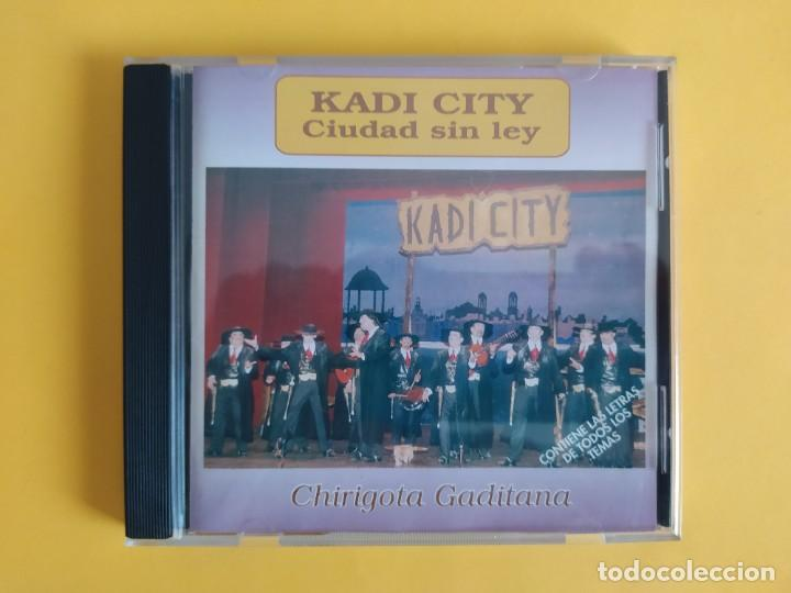 KADI CITY - CHIRIGOTA DEL CARNAVAL DE CADIZ JUAN CARLOS ARAGON CD MUSICA (Música - CD's Flamenco, Canción española y Cuplé)