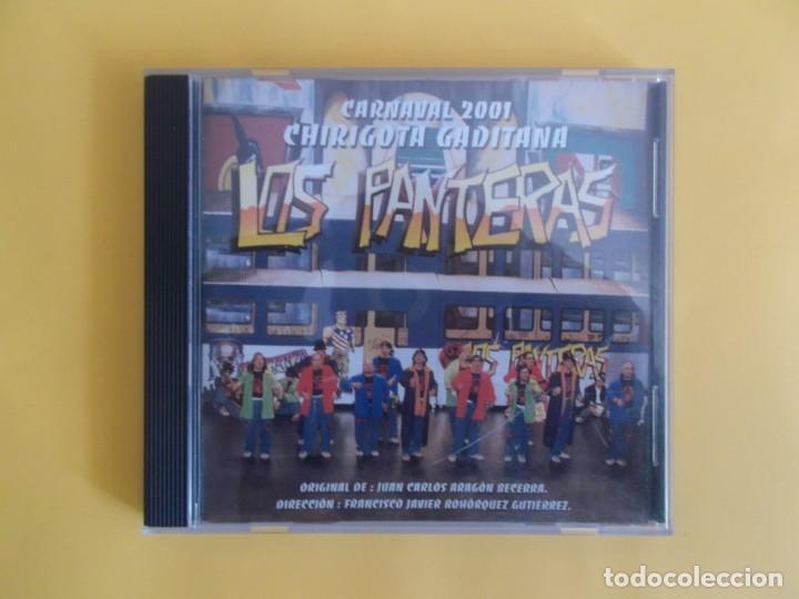 LOS PANTERAS - CHIRIGOTA DEL CARNAVAL DE CADIZ JUAN CARLOS ARAGON CD MUSICA (Música - CD's Flamenco, Canción española y Cuplé)