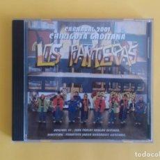 CDs de Música: LOS PANTERAS - CHIRIGOTA DEL CARNAVAL DE CADIZ JUAN CARLOS ARAGON CD MUSICA. Lote 245306870