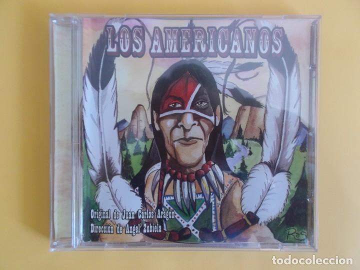 LOS AMERICANOS - COMPARSA DEL CARNAVAL DE CADIZ JUAN CARLOS ARAGON CD MUSICA (Música - CD's Flamenco, Canción española y Cuplé)
