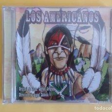 CDs de Música: LOS AMERICANOS - COMPARSA DEL CARNAVAL DE CADIZ JUAN CARLOS ARAGON CD MUSICA. Lote 245307255