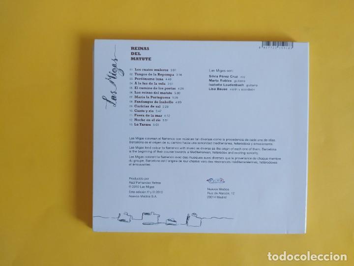 CDs de Música: LAS MIGAS - REINAS DEL MATUTE CD MUSICA - Foto 2 - 245307860