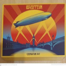 CDs de Música: LED ZEPPELIN (CELEBRATION DAY) 2 CD'S + 2 DVD'S 2012. Lote 245309475