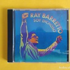 CDs de Música: RAY BARRETTO - SOY DICHOSO MUSICA CD. Lote 245309860