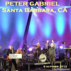 CDs de Música: PETER GABRIEL - SANTA BARBARA, CALIFORNIA, 9 OCTUBRE 2012 (2CD). Lote 245309895