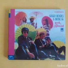 CDs de Música: SERGIO MENDES & BRASIL 66 - LOOK AROUND MUSICA CD. Lote 245310575