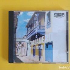 CDs de Música: SEXTETO HABANERO - 1926 - 1948 MUSICA CD. Lote 245311040
