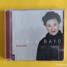 CDs de Música: MARIA BAYO - HAENDEL CD MUSICA. Lote 245311670